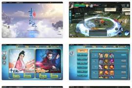 3D仙侠手游青云志本地端+视频教程|Linux手工服务端+热更新工具