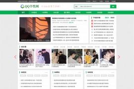 QQ个性空间日志新闻资讯门户类织梦模板(带手机端)